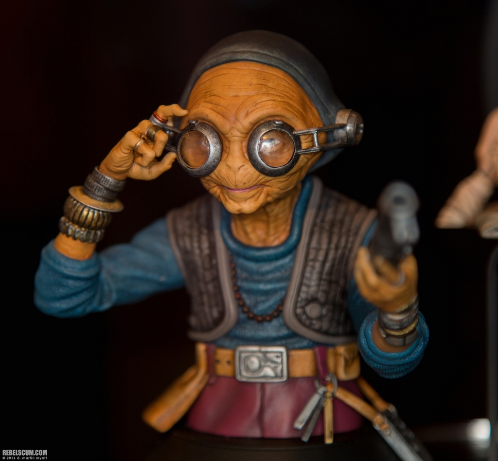 Gentle Giant - Maz Kanata Mini Bust PGM 2016-s34