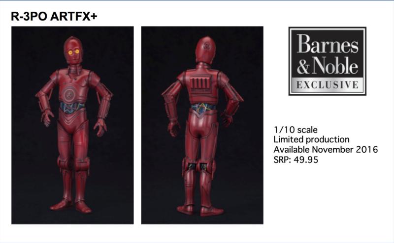 Kotobukiya Star Wars R3-PO Barnes & Nobles Exclusive ARTFX+ Captur10
