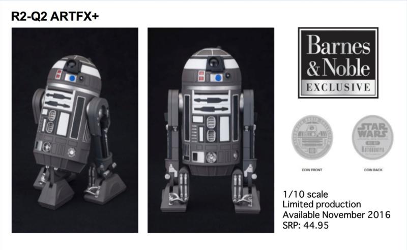 Kotobukiya Star Wars R2-Q2 Barnes & Nobles Exclusive ARTFX+ Captur11