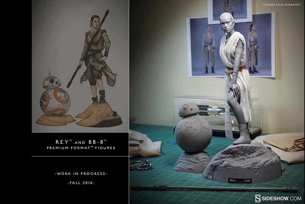 Sideshow Collectibles -Rey & BB-8 Premium Format Figure  Captur18
