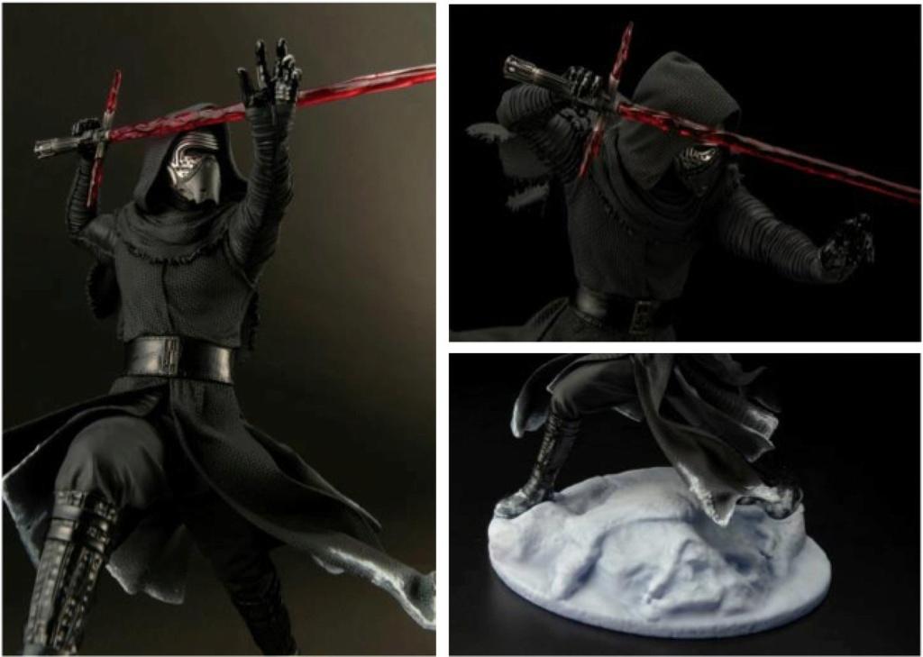 Kotobukiya Star Wars - Kylo Ren Vader helmet ArtFX Statue   Cn_sop10