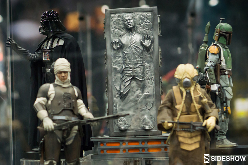 Sideshow - Han Solo in Carbonite Sixth Scale Figure Han-so10