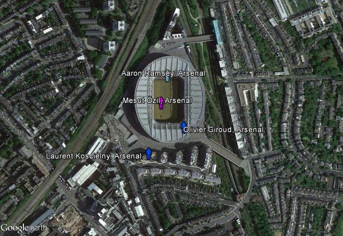 Petite géographie de l'Euro 2016 de football : où est le centre de l'Europe ? Arsena10