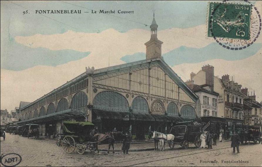 STREET VIEW : halles et marchés couverts - Page 2 Bleau_10