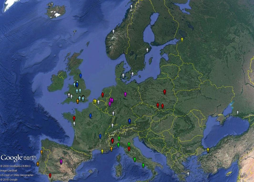 Petite géographie de l'Euro 2016 de football : où est le centre de l'Europe ? Euro_q10