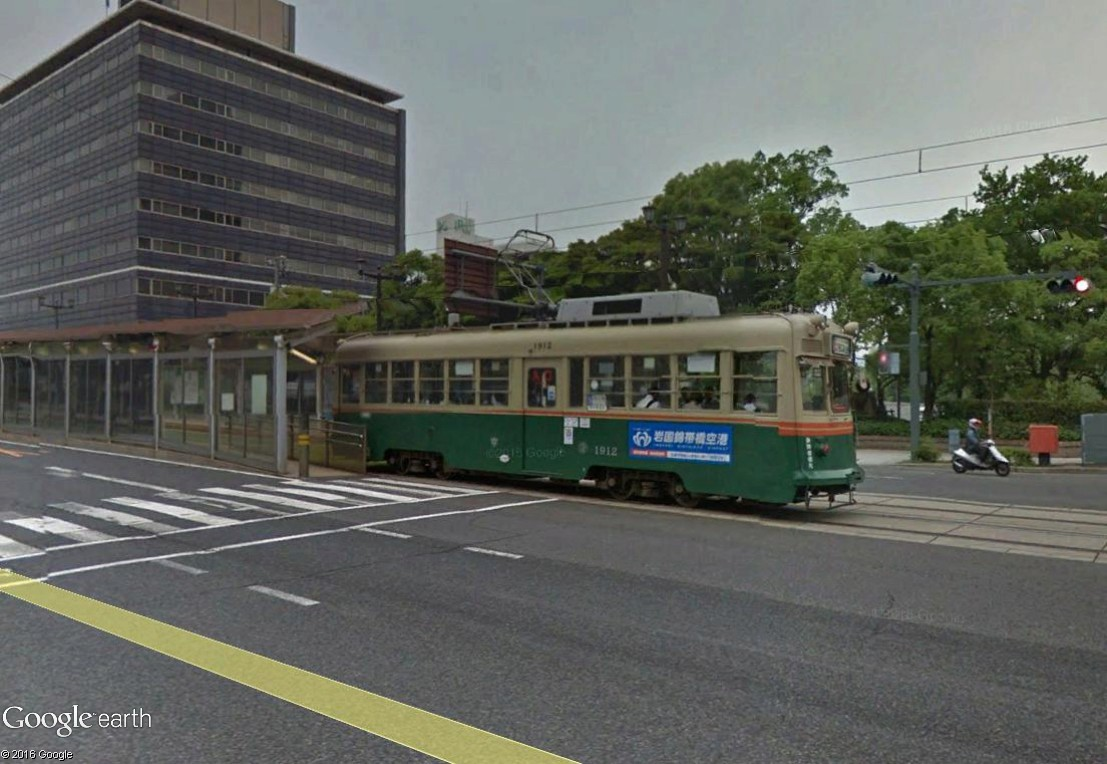STREET VIEW : les tramways en action - Page 3 Hirosh10