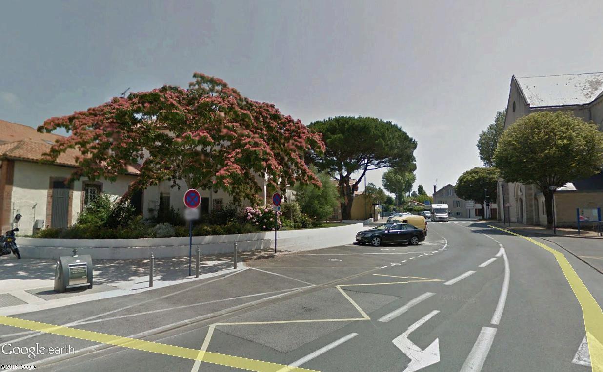 STREET VIEW : 2 sens de circulation = 2 saisons différentes vues de la Google Car ! [A la chasse !] - Page 3 Landes10