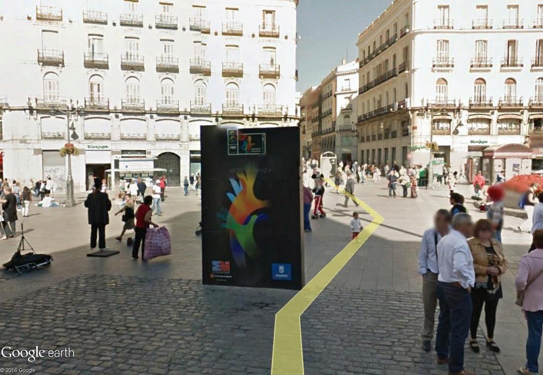 [STREET VIEW] Compteurs, horloges et compte-à-rebours Madr210