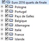 Petite géographie de l'Euro 2016 de football : où est le centre de l'Europe ? Quarts10