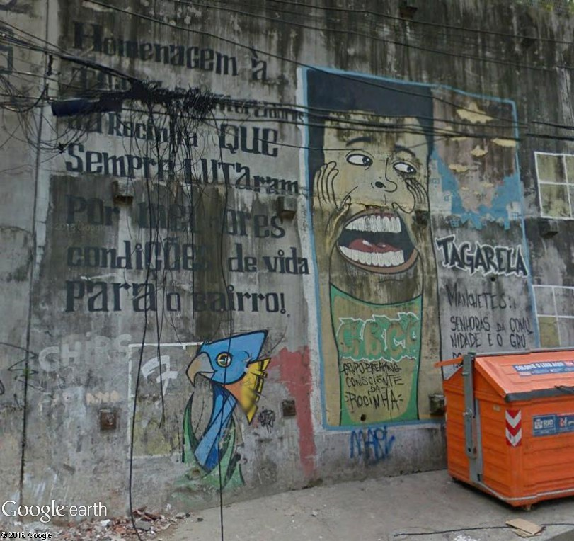 STREET VIEW : street art, grafs, tags et collages - Page 5 Rio10