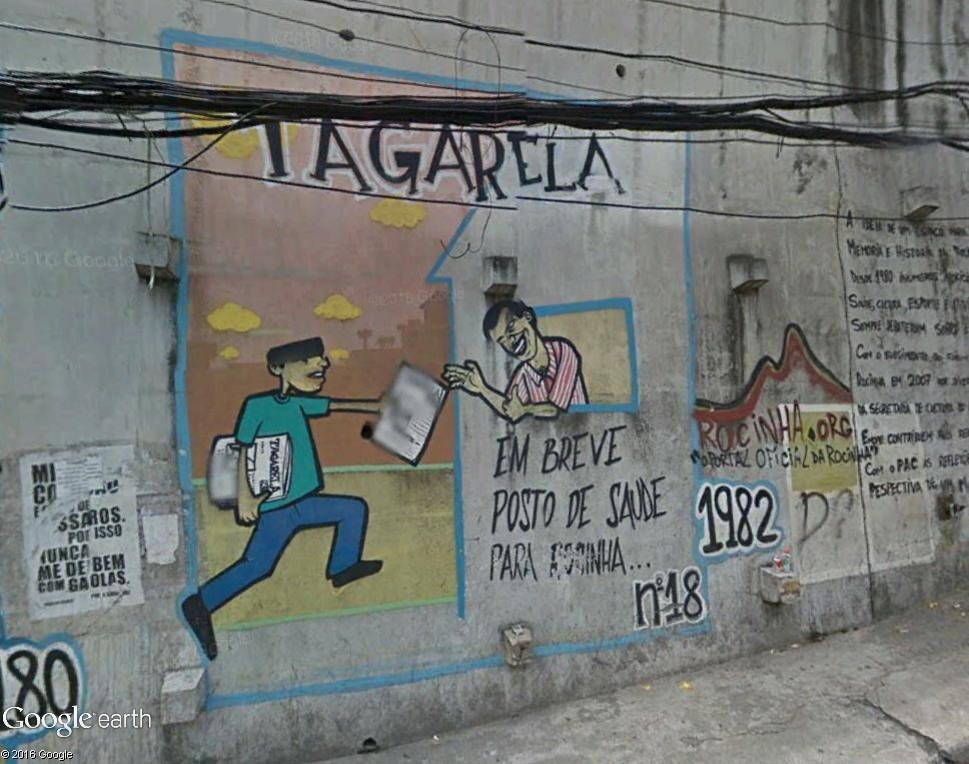 STREET VIEW : street art, grafs, tags et collages - Page 5 Rio_210