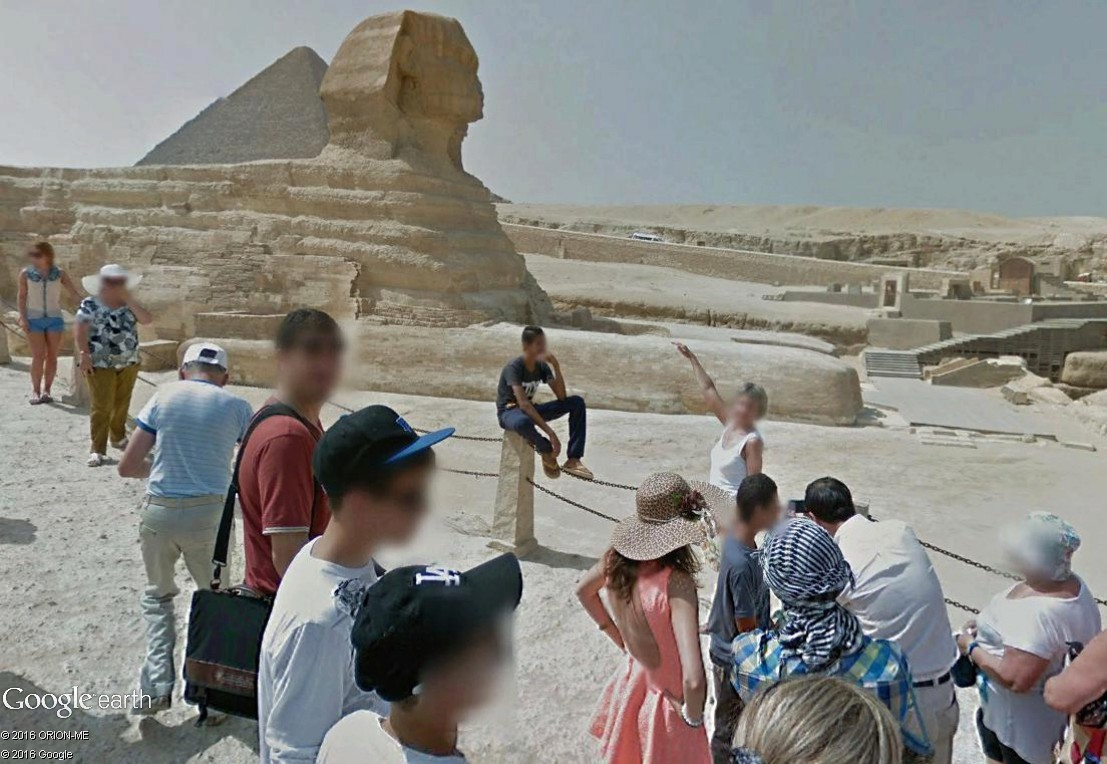 STREET VIEW : photos souvenir Sphinx16