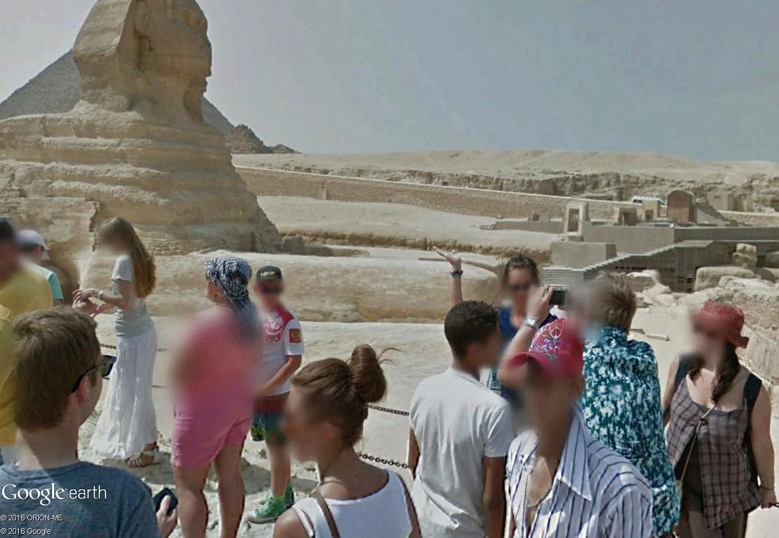 STREET VIEW : photos souvenir Sphinx17