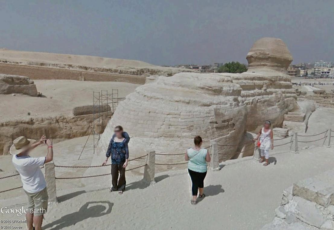 STREET VIEW : photos souvenir Sphinx18