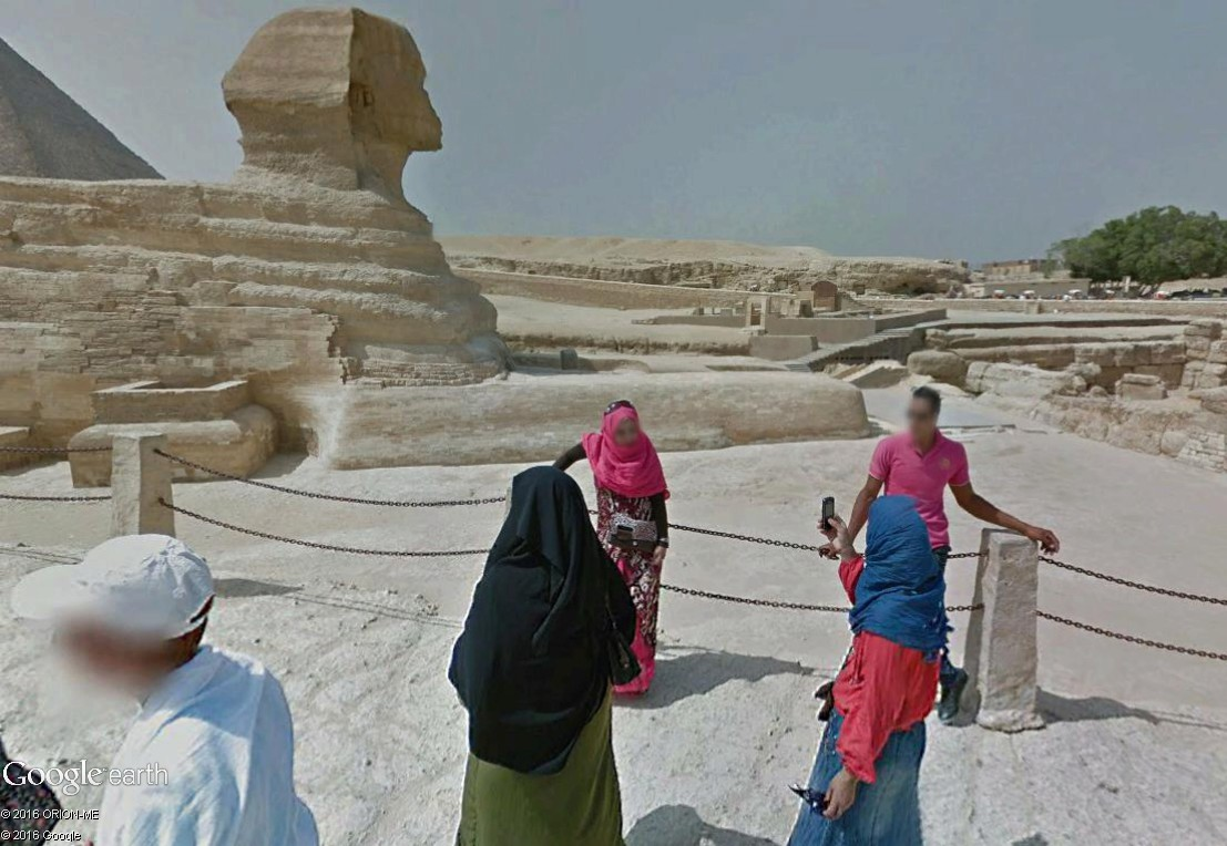 STREET VIEW : photos souvenir Sphinx19