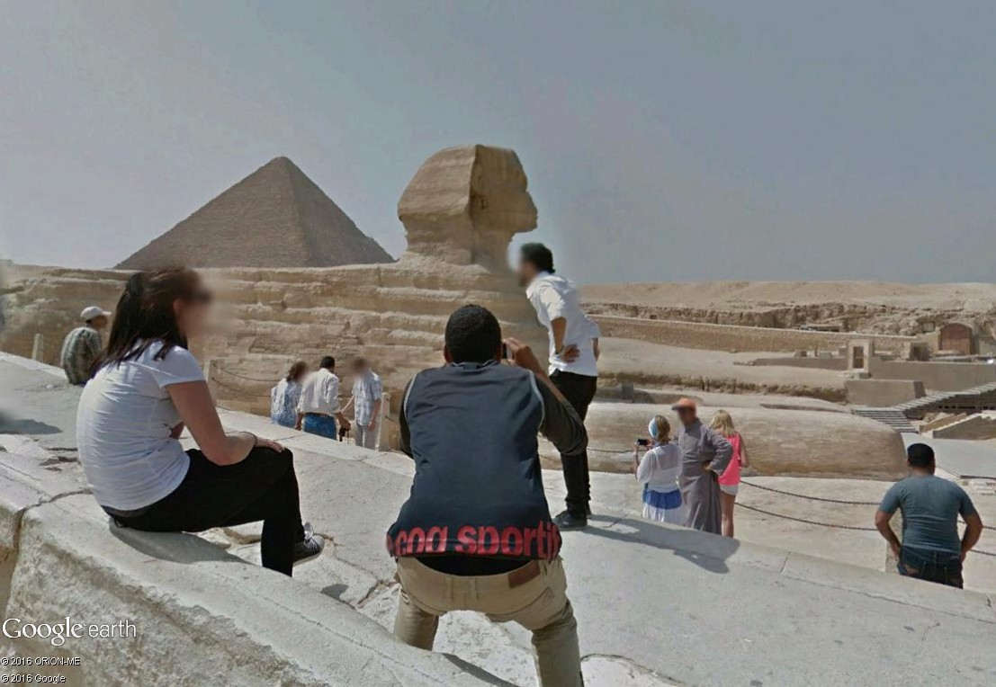 STREET VIEW : photos souvenir Sphinx20