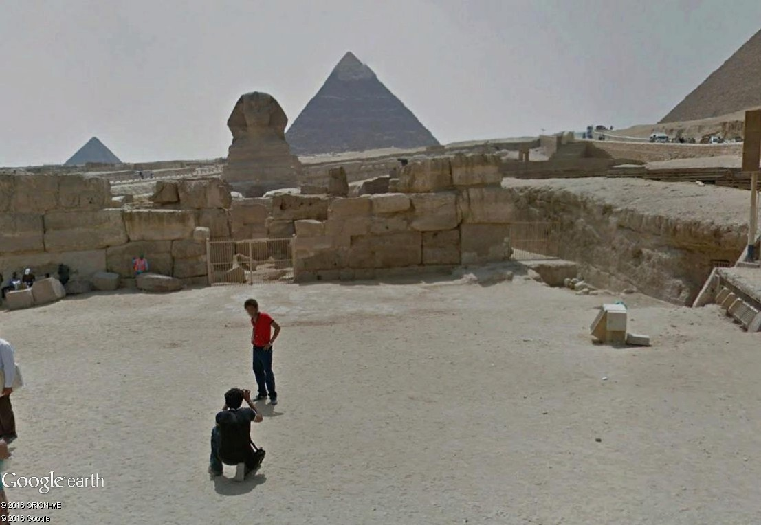 STREET VIEW : photos souvenir Sphinx21