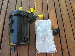 [ Renault Kangoo ] Remplacement filtre à gazoil Filtre10