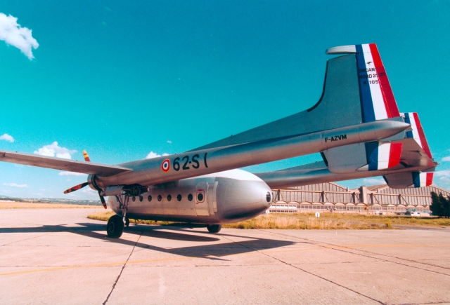 Noratlas n° 105 - toujours en service au 10 avril 2011 Nord_111