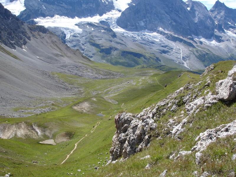 Tignes - col du Palet - lac des Échines Dsc03213