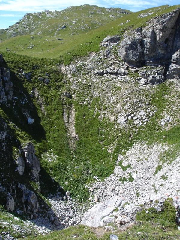 Tignes - col du Palet - lac des Échines Dsc03315