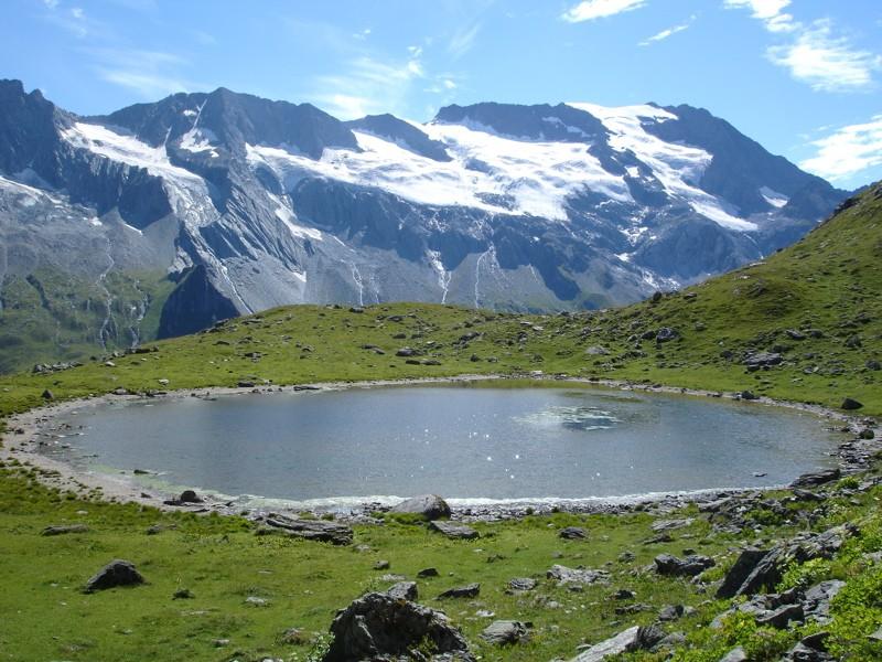 Tignes - col du Palet - lac des Échines Dsc03317
