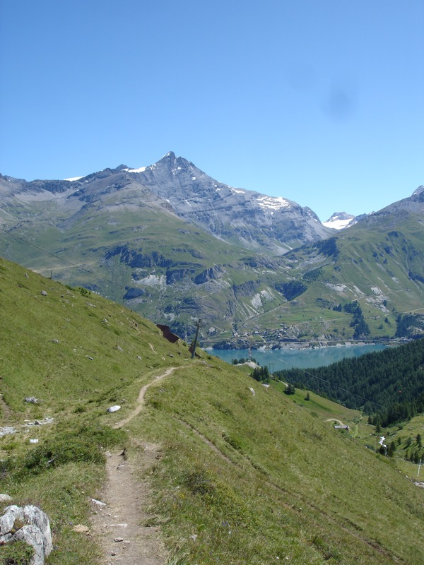 Tignes le Lac -> Tignes les Boisses Dsc04111