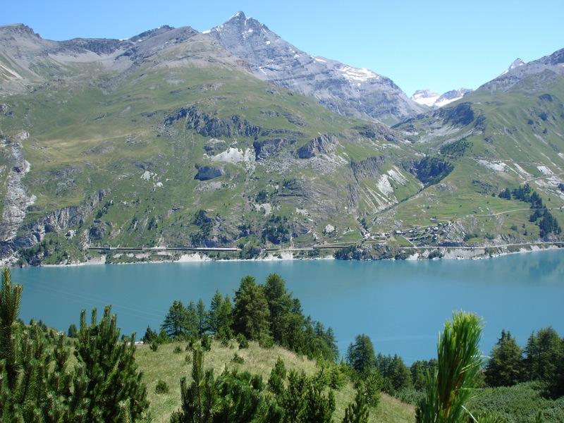 Tignes le Lac -> Tignes les Boisses Dsc04115