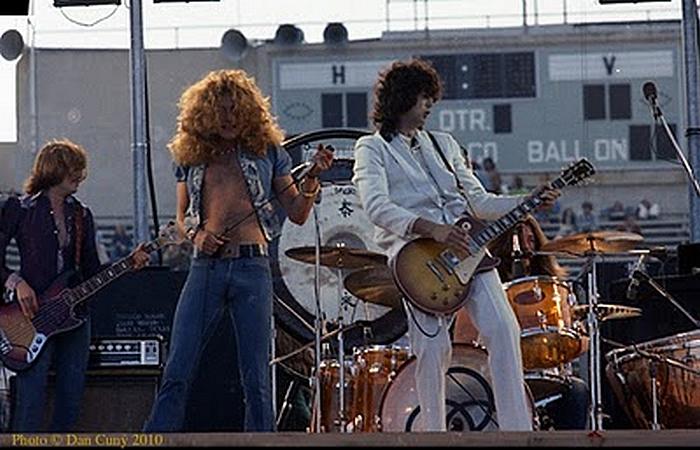 Pictures at eleven - Led Zeppelin en photos 210