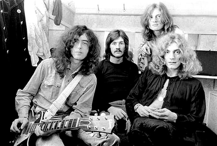 Pictures at eleven - Led Zeppelin en photos Led-ze11
