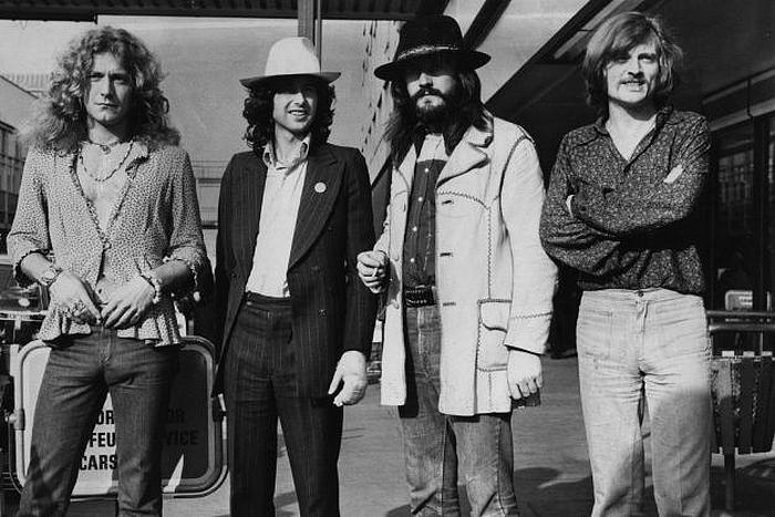 Pictures at eleven - Led Zeppelin en photos Led-ze12