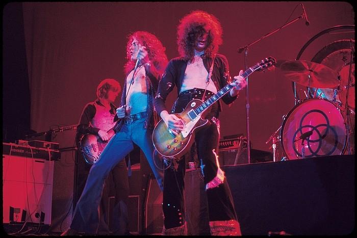 Pictures at eleven - Led Zeppelin en photos Ledzep13