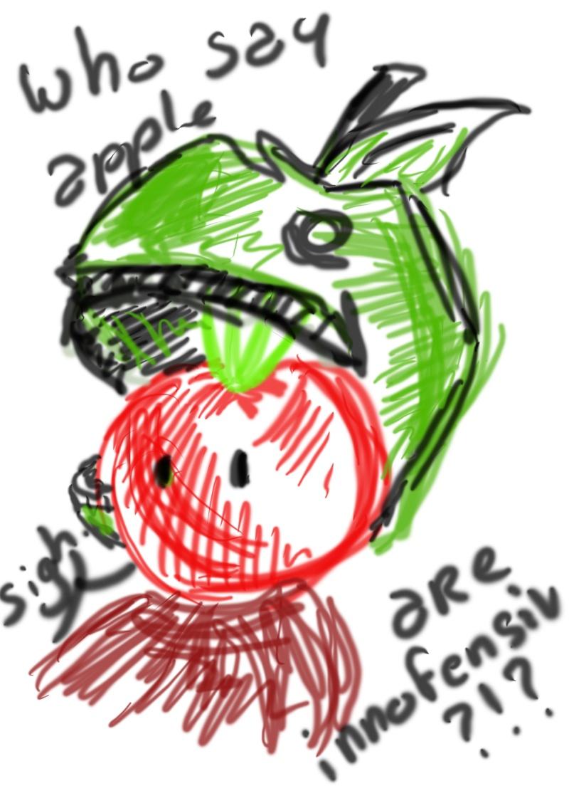 chasse dessin Apple10