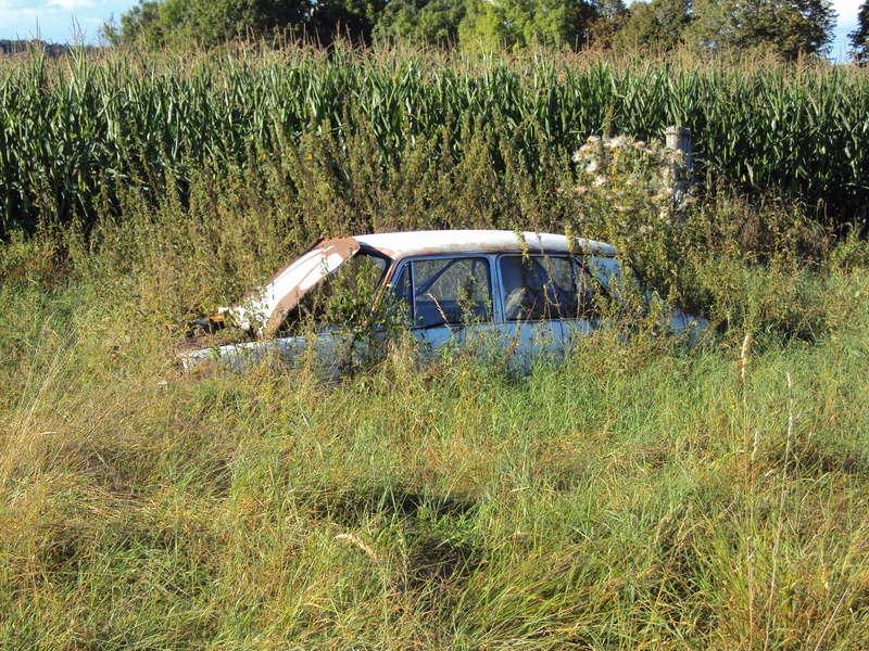 Les voitures abandonnées/oubliées (trouvailles personnelles) - Page 5 Liffol10