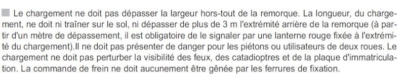 signalisation de remorque Charge10