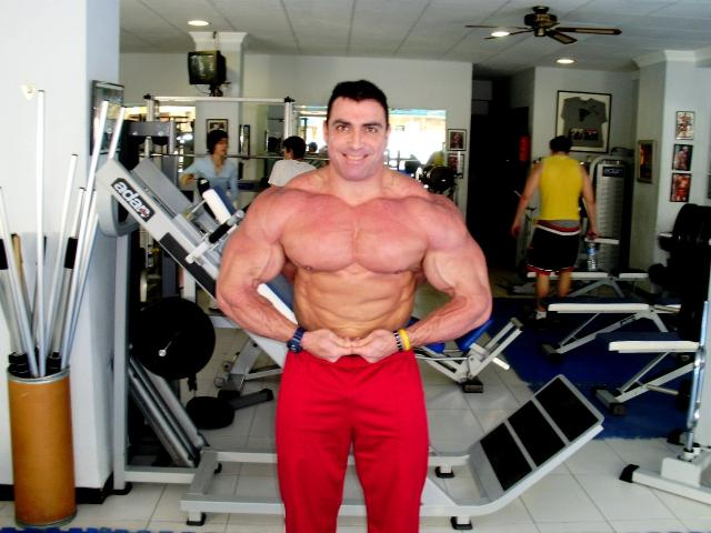 Marcos Chacon en préparation pour l'Europa Show 29012010