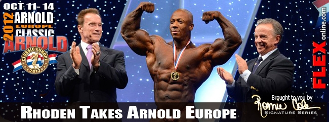Shawn Rhoden remporte l'Arnold Classic Europe 2012 Arnold10