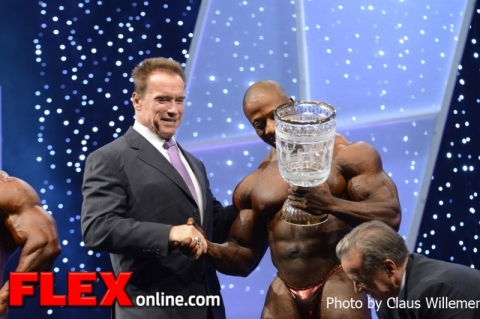 Shawn Rhoden remporte l'Arnold Classic Europe 2012 Arnold15