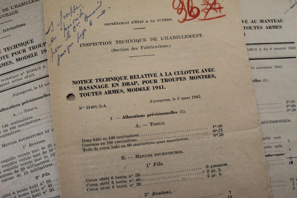 Culotte + manteau cavalerie 1939, borne Argonne + divers Img_0010