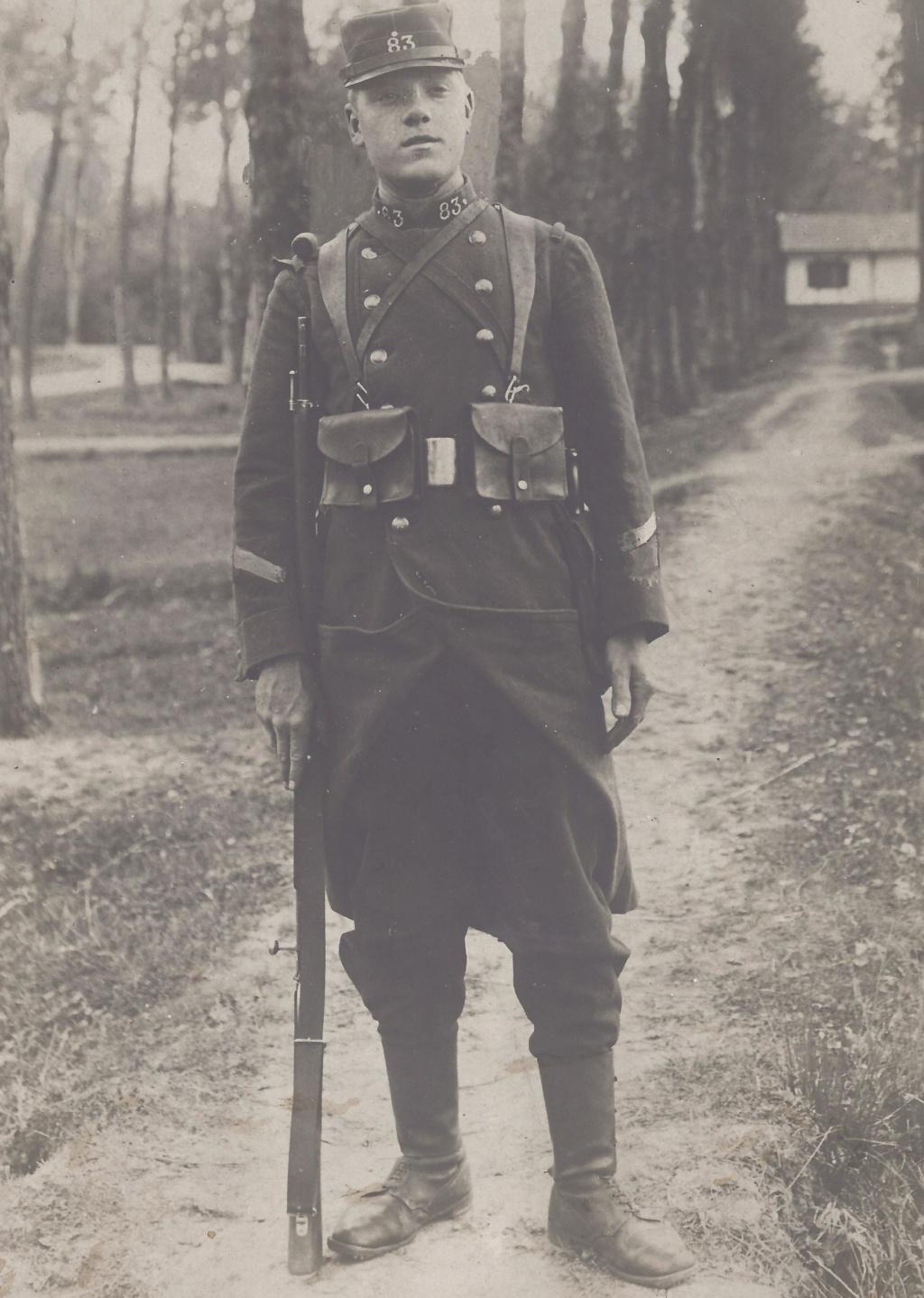 Gaston PEZET mort pour la France en 1914. Pezet_13