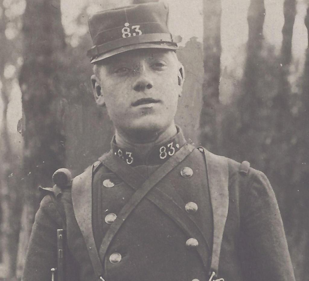 Gaston PEZET mort pour la France en 1914. Pezet_14