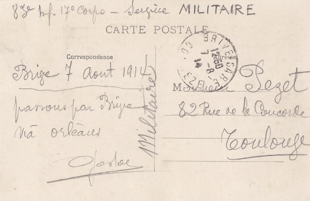 Gaston PEZET mort pour la France en 1914. Pezet_15