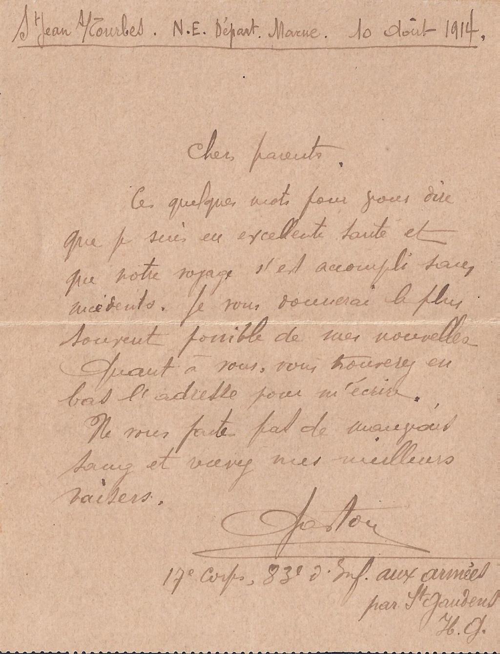 Gaston PEZET mort pour la France en 1914. Pezet_17