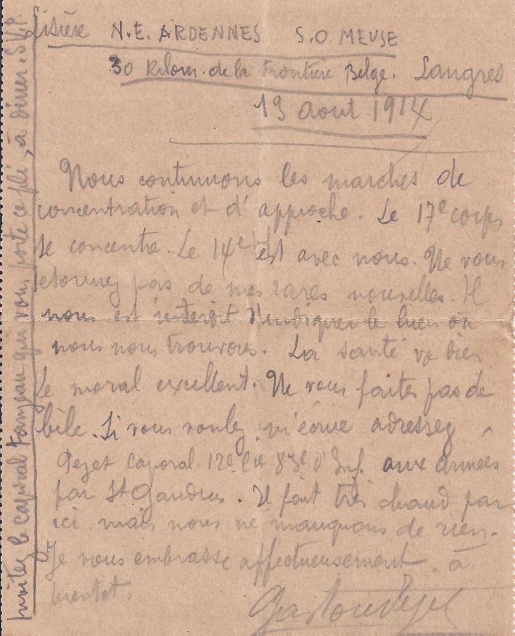 Gaston PEZET mort pour la France en 1914. Pezet_18