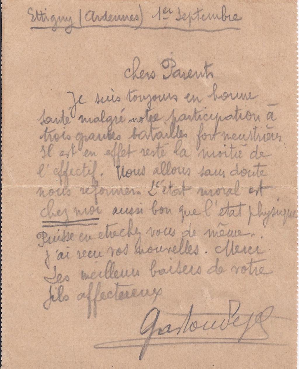 Gaston PEZET mort pour la France en 1914. Pezet_20