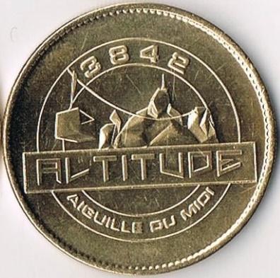 Chamonix-Mont-Blanc (74400)  [Aiguille Midi / UEAH / UEEZ] 384210