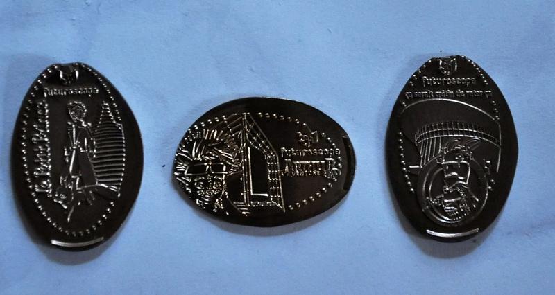 Elongated par graveur Eti Medals Lapins10