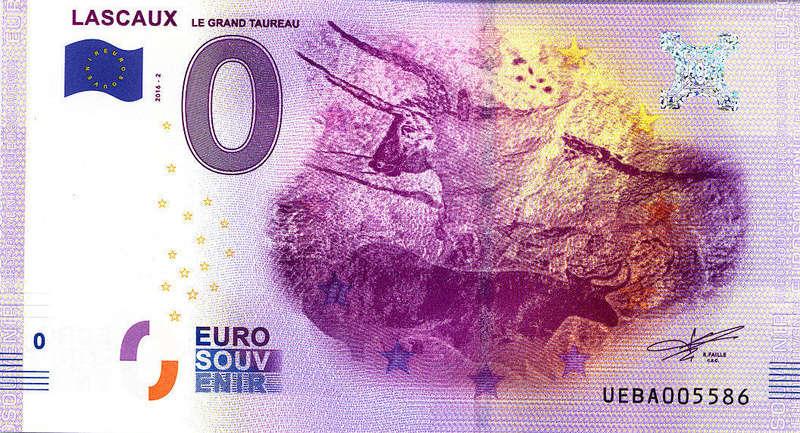 Billets 0 € Souvenirs  [Nouvelle Aquitaine = 73] Lascau10