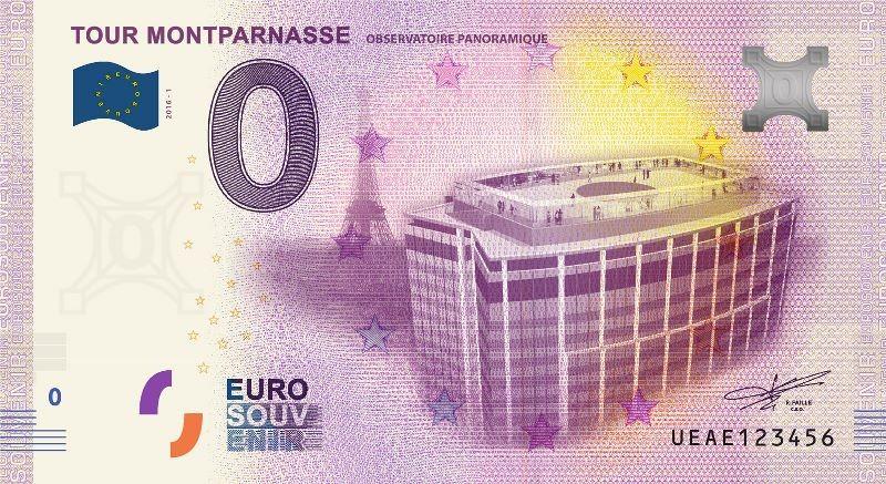 Billets 0 € Souvenirs  [Paris = 81] Montpa11
