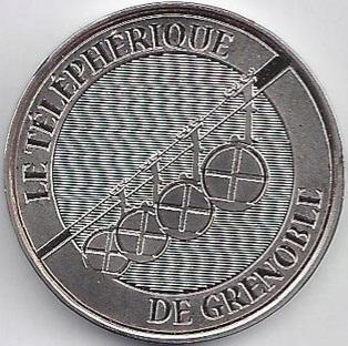 Grenoble (38000)  [Bastille / Stendhal] Teleph10